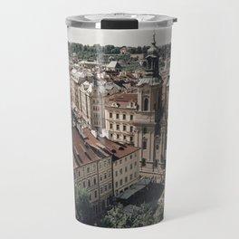 Prague Rooftop 01 Travel Mug