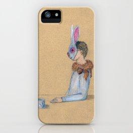 Alle Macht dem Kaninchen iPhone Case