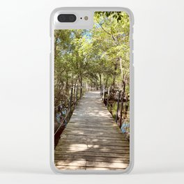 Path to the edge Clear iPhone Case