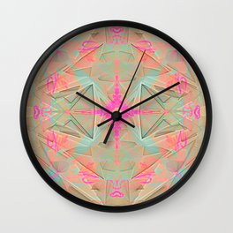 spatiality Wall Clock