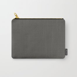 Sleepy Wolf ~ Taupe Sand Carry-All Pouch
