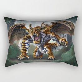 Tiger Dragon Rectangular Pillow