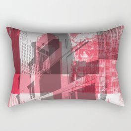 city life New york Rectangular Pillow