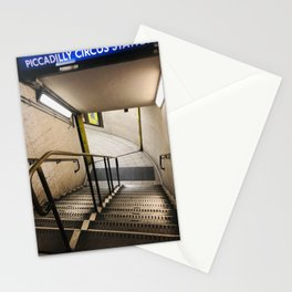 Piccadilly Circus station, London Stationery Cards