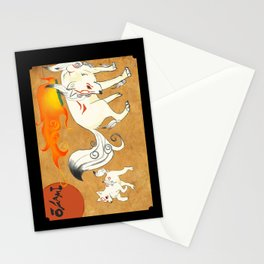 Okami! Stationery Cards
