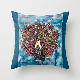Sound of Autumn Throw Pillow