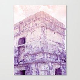 mayan ruins 2 Canvas Print