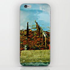 Dock of the Bay iPhone & iPod Skin