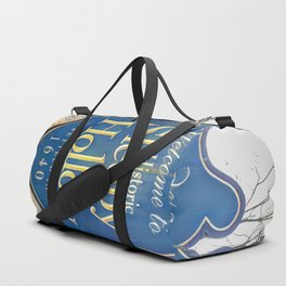 Sleepy Hollow Town Sign Duffle Bag