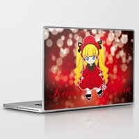 chibi Laptop & iPad Skins featuring Chibi Shinku by Yue Graphic Design