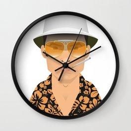Raoul Duke Wall Clock
