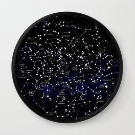 Celestial Map - Northern Hemisphere  Wall Clock