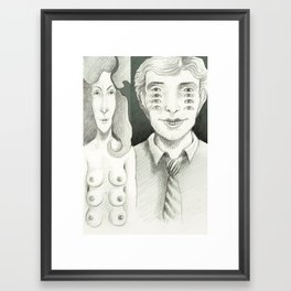 Looking forward Framed Art Print