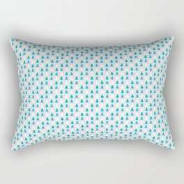 Winter Pines Rectangular Pillow
