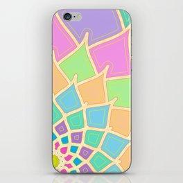 Pastel Lotus iPhone Skin