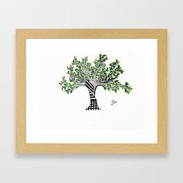 The Small Tree... Framed Art Print