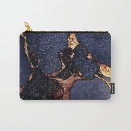INDIGO & GOLD GEMSTONE Carry-All Pouch