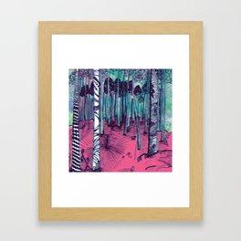 Hunter on Shrooms Framed Art Print