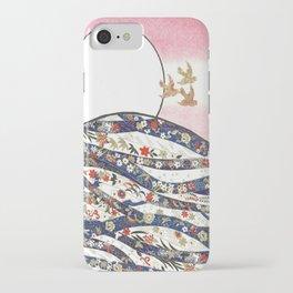 Hanafuda Bozu iPhone Case