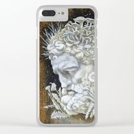 The Cost of Wisdom Clear iPhone Case
