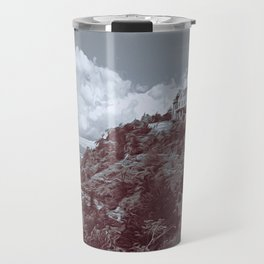 Ha Ha Tonka in Selenium and Gray Travel Mug