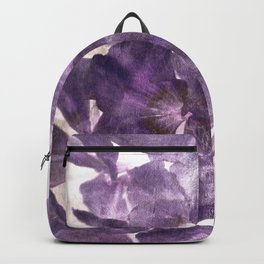 Purple Blossoming Backpack