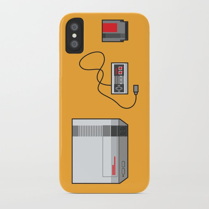 #38 Nintendo Entertainment System iPhone Case