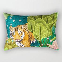 Jungle Tiger Rectangular Pillow