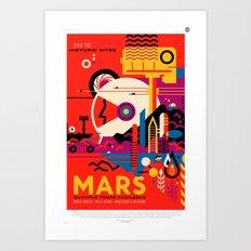 NASA/JPL Poster (Mars) Art Print