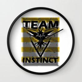 Team Instinct Strip Wall Clock