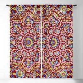 Indian Mandala Embroidery by Sir Matthew Digby Wyatt Blackout Curtain