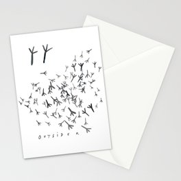 Outsiders Stationery Cards