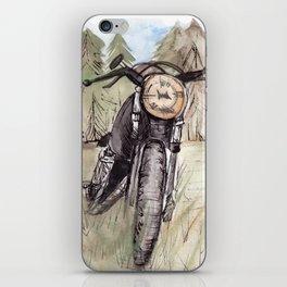 Cafe Racer Illustration iPhone Skin