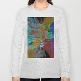 Abstract 123 Long Sleeve T-shirt