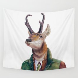 Pronghorn Deer Wall Tapestry