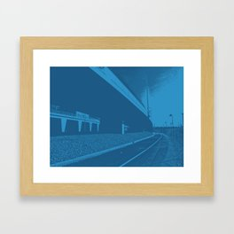 Bridge 8 Framed Art Print