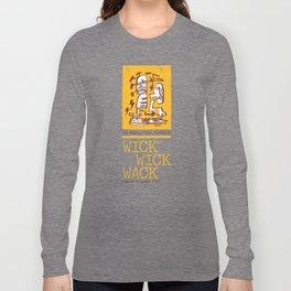 The Mighty Souls' Throwback: WICK WICK WACK - Figure UV Speech (1993) Long Sleeve T-shirt