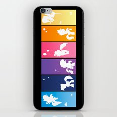 Rainbow Ponies iPhone & iPod Skin