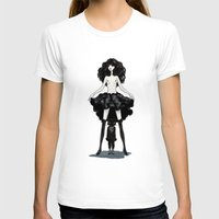 heels T-shirts featuring My mind wears heels by Deletereo