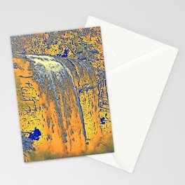 "series waterfall ""Cachoeira Grande"" II Stationery Cards"