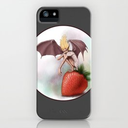 Twilight Fairy iPhone Case