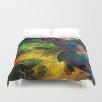 blanket Duvet Covers featuring Blanket of Stars 2 by Klara Acel