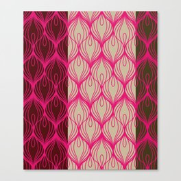 Peacocks Wear Pink Canvas Print