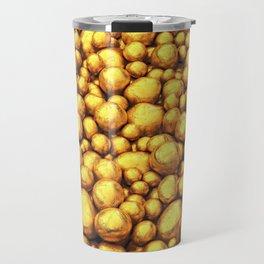 Raw gold Travel Mug
