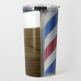 Barber Sign Travel Mug