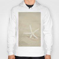 starfish Hoodies featuring Starfish  by Laura Ruth