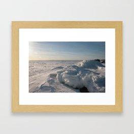 March Light Framed Art Print