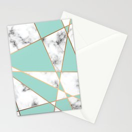 Marble Geometry 055 Stationery Cards