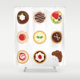 Petits Fours Shower Curtain