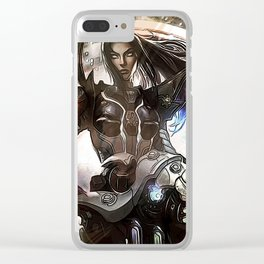 League of Legends PULSEFIRE CAITLYN Clear iPhone Case